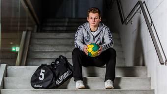Mischa Wirthlin (18) ist im Schnellzug-Tempo auf dem Weg nach oben. Fabio Baranzini