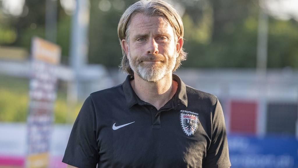 FC-Aarau-Trainer Keller nicht gesperrt, aber gebüsst