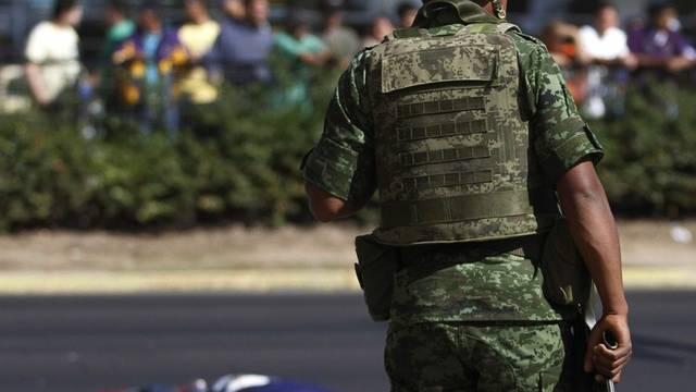 Blutiger Krieg in Mexiko zwischen der Polizei und den Drogenbanden (Archivbild)