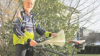 Biker Willi Gubler kennt den Aargau in- und auswendig
