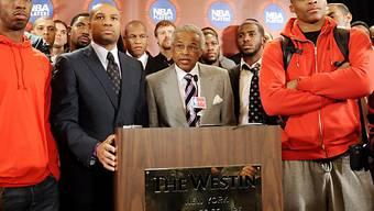 Lange Gesichter in New York: Die NBA-Saison droht zu platzen.