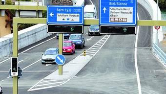 Westumfahrung: Die Strasse hat Solothurn entlastet. oliver menge