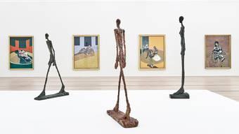 Leihgaben aus der Fondation Giacometti in Paris und von Museen und Sammlern finden in der Fondation Beyeler zusammen.