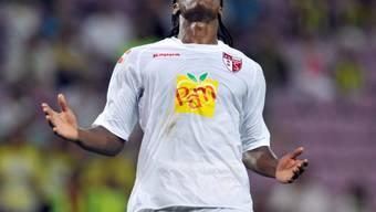 Sion-Stürmer Emile Mpenza blieb ohne Torerfolg