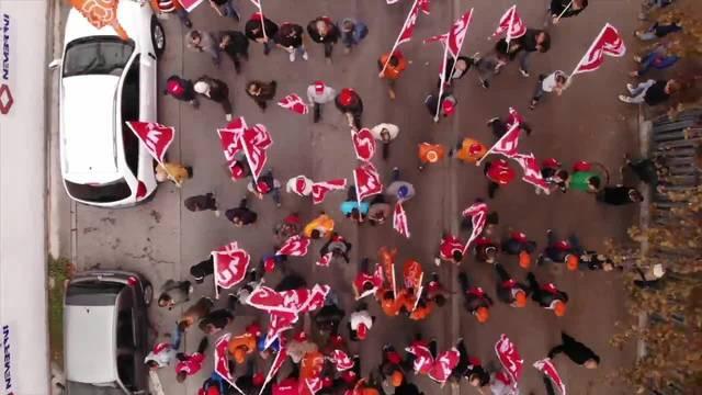 3000 Bauarbeiter kämpfen in Bellinzona für die Rente mit 60