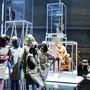 Willkommen im erbarmungslosen Menschenpark: Szenenbild aus «In den Gärten oder Lysistrata Teil 2» von Sibylle Berg. Bild: Theater Basel/Sandra Then