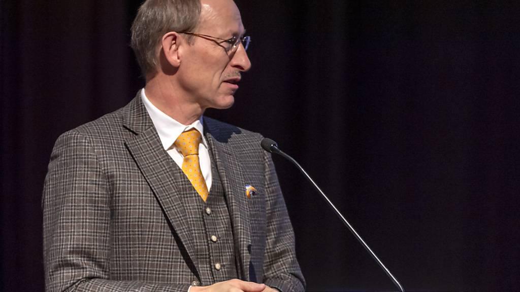 Hat die Messebetreiberin zu Neuverhandlungen gezwungen: Der Aktionär Erhard Lee. (Archivbild)