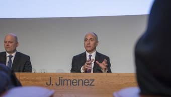 Novartis-Chef Joe Jimenez rechnet erst im nächsten Jahr wieder mit Wachstum.