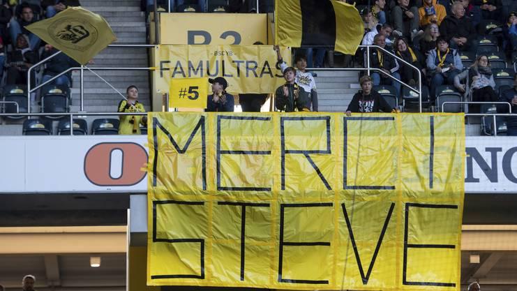 Die Berner Fans wissen, was sie dem Neuenburger zu verdanken haben.