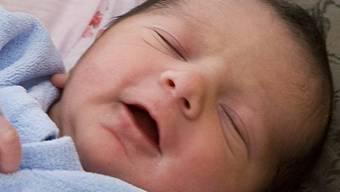 Mutter würgte Baby (Symbolbild)