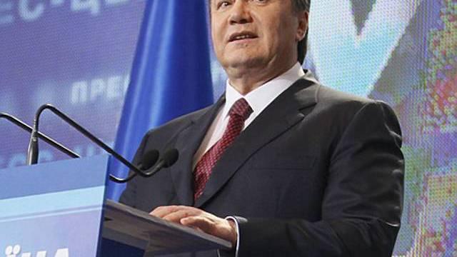Viktor Janukowitsch gewählt