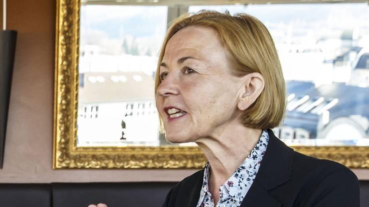 Man ist sich nicht einig, kann aber offenbar trotzdem gut zusammen: VSEG-Präsident Roger Siegenthaler und Regierungsrätin Susanne Schaffner.