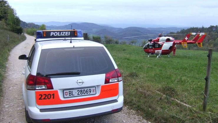 Rega fliegt verletzten Knaben ins Spital