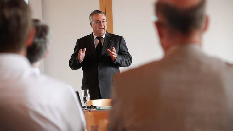 Felix Kunz ist neu Verwaltungsratspräsident der Schule.  Hanspeter Bärtschi