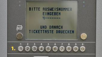 Strassenstrich-Ticketautomat an der Gräblistrasse in Zürich