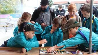 Am Schnuppertag erwarten die Kinder verschiedene Pfadiposten.