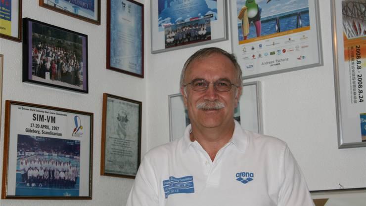 Andreas Tschanz und seine Erinnerungen an mehr als 20 Olympia-, Welt- und Europameisterschafseinsätze als Schiedsrichter.