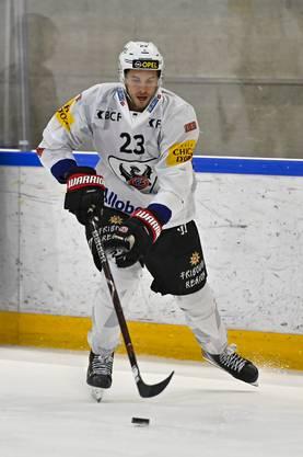 Samuel Walser möchte die in ihn gesetzten Erwartungen in dieser Saison erfüllen und bei Fribourg-Gottéron Verantwortung übernehmen.