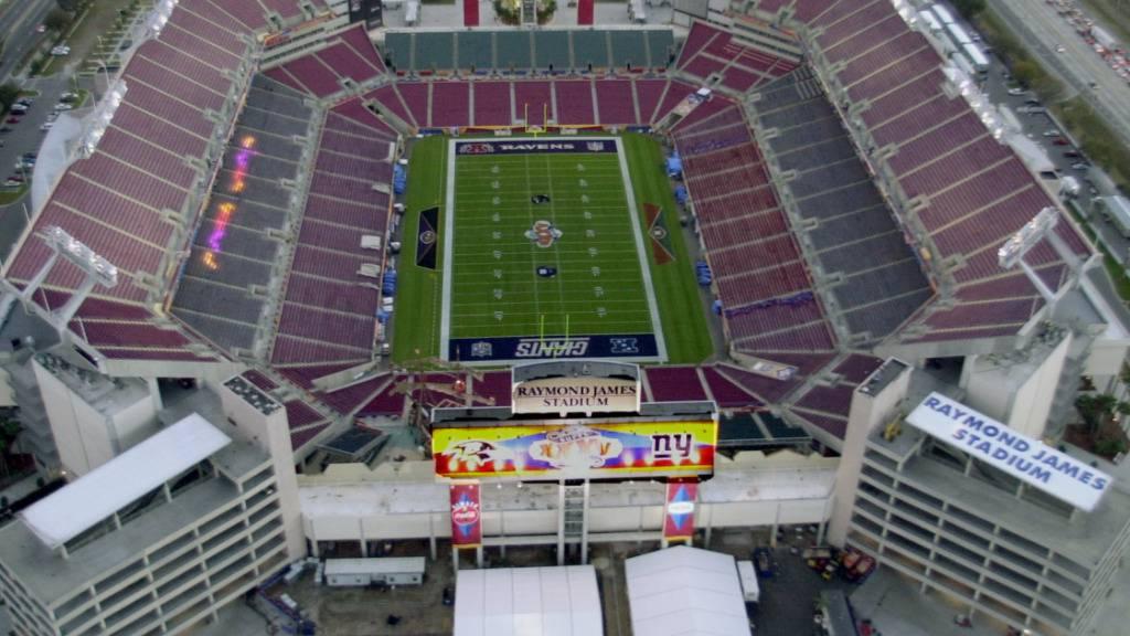 Super Bowl mit 22'000 Fans im Stadion