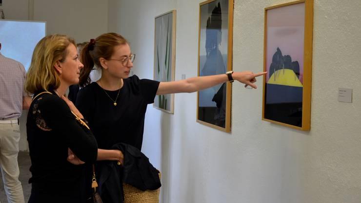 Im Keller der «Langmatt» werden wiederum zeitgenössische Werke von Schweizer Künstlern gezeigt.