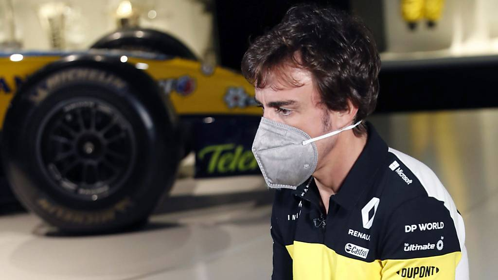 Vorerst muss Fernando Alonso auf Auftritte in der Öffentlichkeit verzichten: Der Spanier liegt nach einem Velo-Unfall im Tessin im Spital