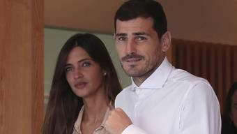 Iker Casillas und seine Ehefrau Sara Carbonero