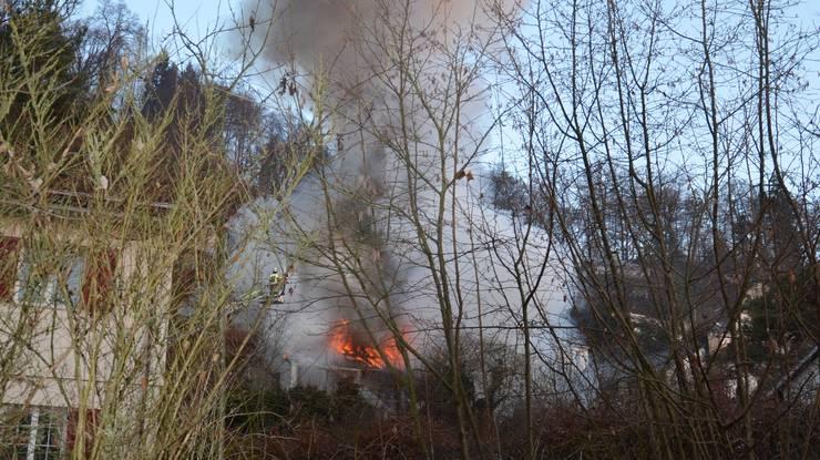 Die Feuerwehr Brugg wurde um 7.30 Uhr von einer Bewohnerin alarmiert.