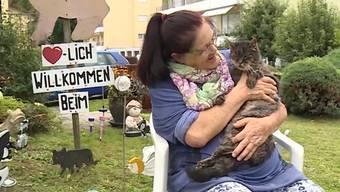 Katzenheidi, Kater Leo und ihr gemeinsamer Lebensabend.