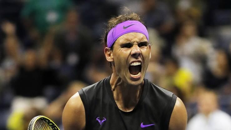 Wer soll ihn stoppen? Rafael Nadal steht vor seinem 19. Grand-Slam-Titel.