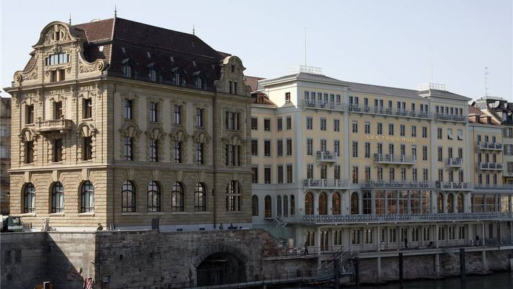 Das Grandhotel Les Trois Rois in Basel