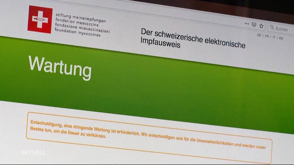 Skandal um Impfdaten: Schweizer Impfplattform offenbar mit Sicherheitsmängel