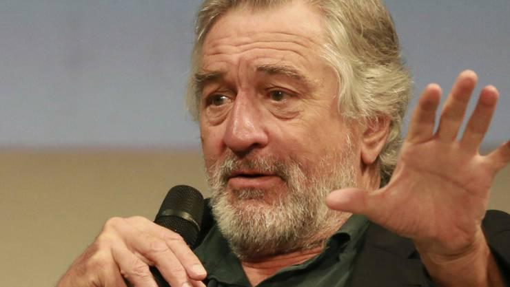 Robert De Niro finanziert in London einen gigantischen Hotelumbau. Das Luxushotel eröffnet 2019 (Archiv)