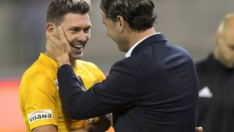 Christian Fassnacht geniesst auch bei YB-Trainer Gerardo Seoane eine Wertschätzung