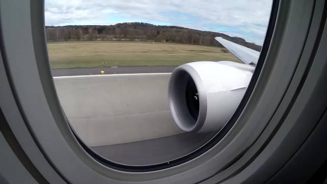 Take-off in Kloten