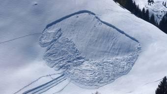 Der Skitourenfahrer wurde in kritischem Zustand mit einem Helikopter ins Spital transportiert, wo er verstarb.