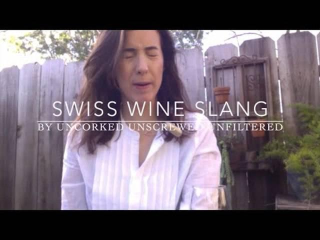 Swiss Wine Slang