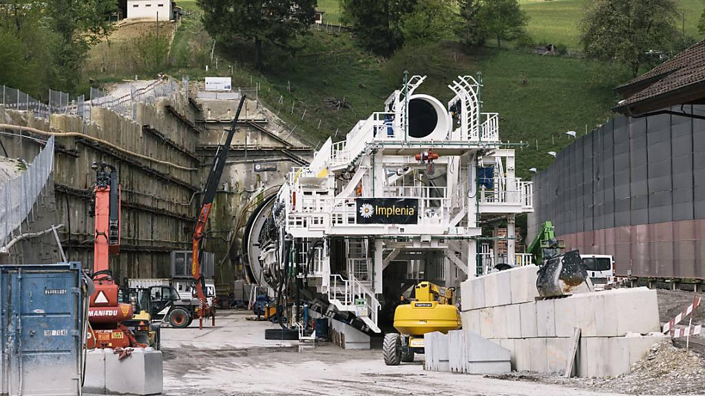 Implenia will Strom für Baustellen in Norwegen bald aus Wasserstoff generieren (Archivbild)