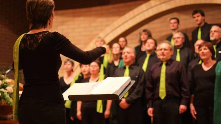 Der Gospelchor unter der musikalischen Leitung von Andrea Graf