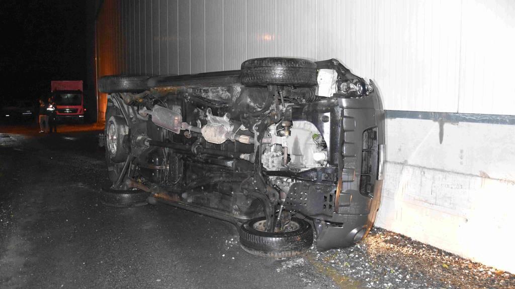 24-jähriger Lenker baut alkoholisiert einen Unfall