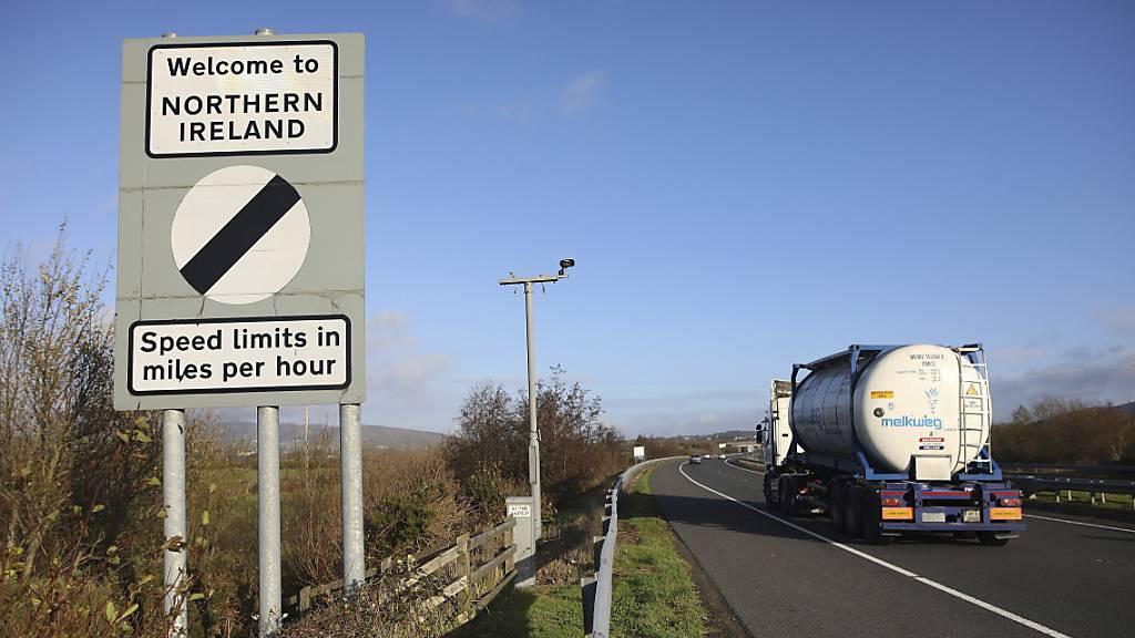 Die Grenze zwischen Nordirland und der Republik Irland