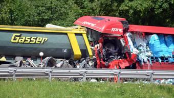 Schwerer Unfall am Gotthard