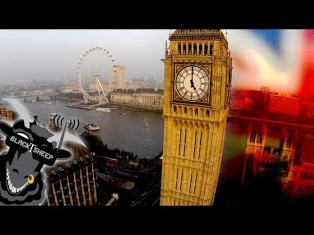 «Teatime in London»: Sightseeing mit Drohne.