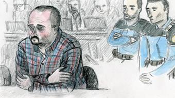 Claude D., der Angeklagte am Prozess im März 2016.