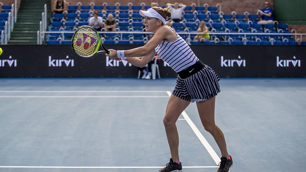 Belinda Bencic steigt erst in Australien in die Saison ein