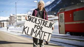 Greta Thunberg am WEF 2019