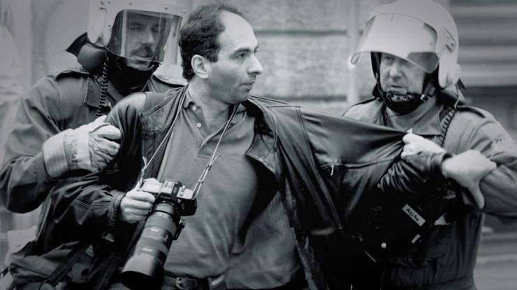 Bei seiner Arbeit als Fotograf geriet Klaus Rózsa wiederholt ins Visier der Polizei.