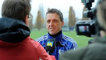 Cheftrainer-Debütant Adrian Kunz ist ein gefragter Mann.