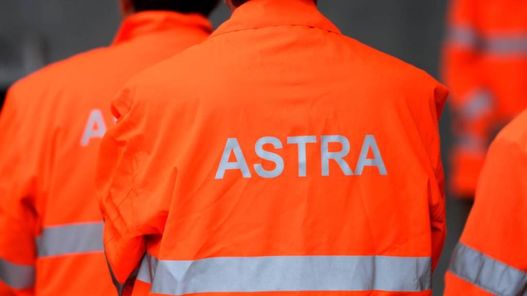 Wegen Bauarbeiten sind die A2-Tunnels Eich und Mariazell in den nächsten Monaten zeitweise nachts gesperrt, wie das Bundesamt für Strassen Astra mitteilte. (Archivaufnahme)