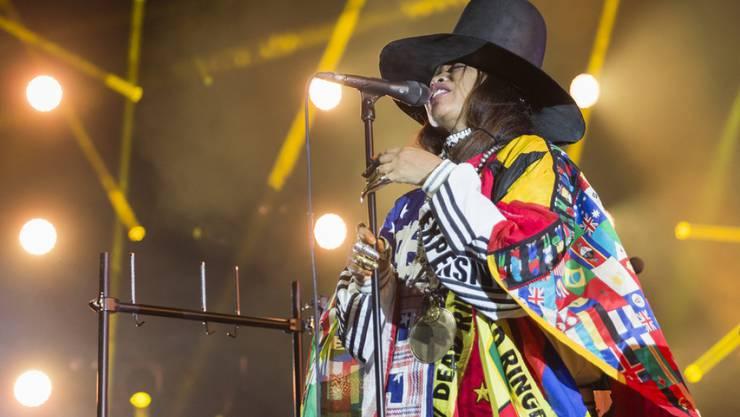 Ihr Konzert zählt zu den prägenden Momenten des 51. Montreux Jazz Festivals: US-Soul-Sängerin Erykah Badu.