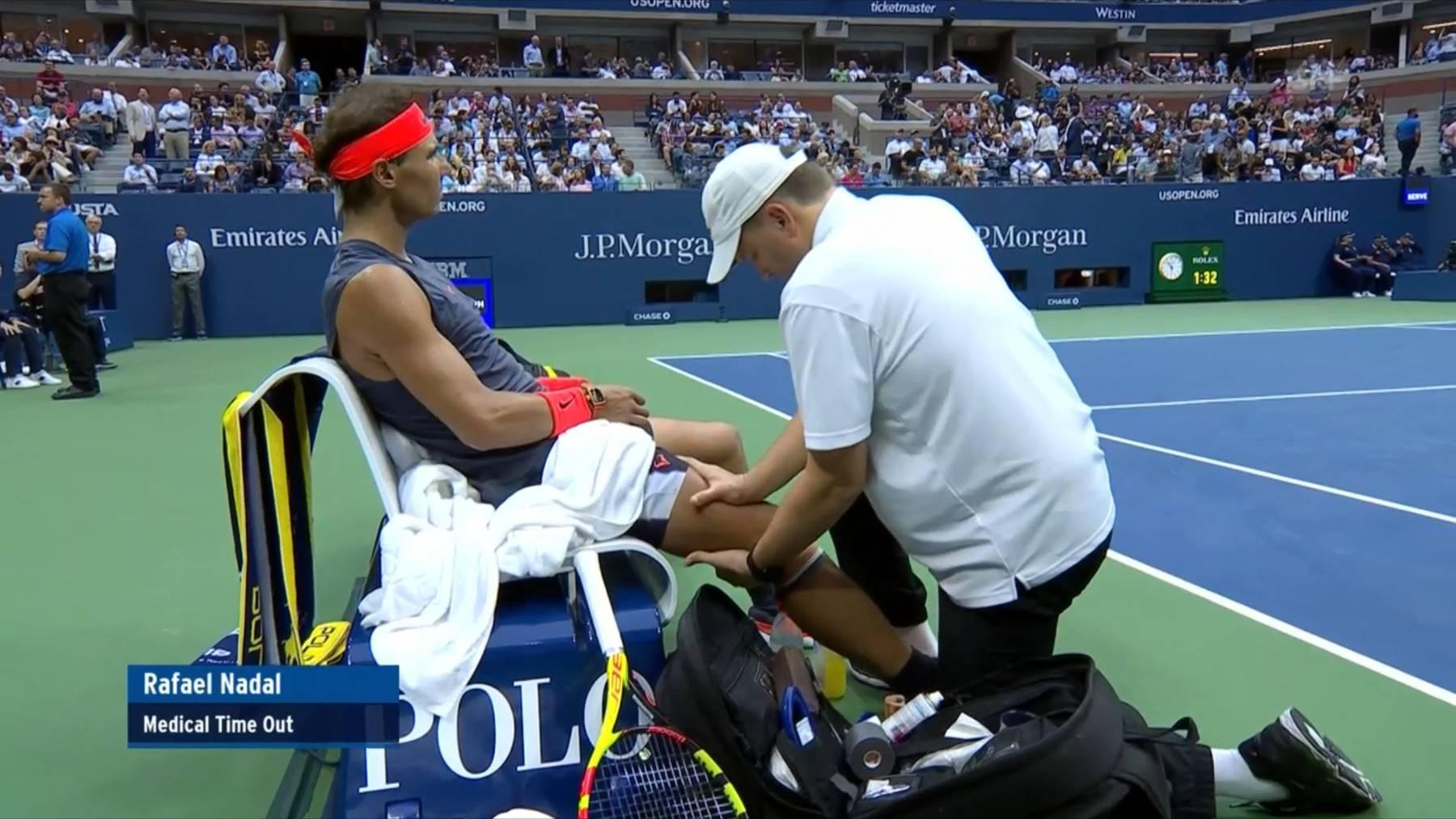 Knieverletzung stoppt Nadal am US-Open